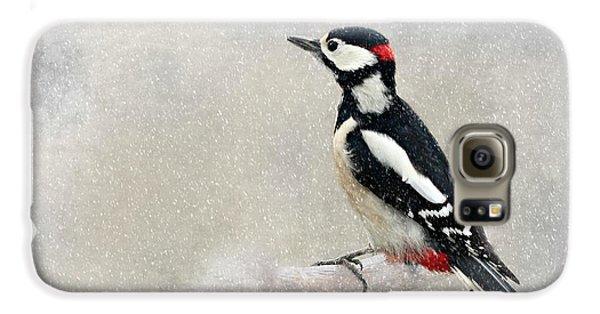 Woodpecker Galaxy S6 Case by Heike Hultsch
