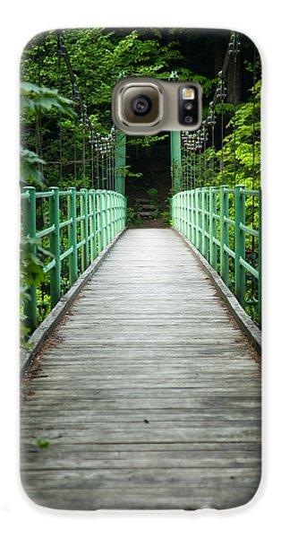 Yagen Forest Bridge Galaxy S6 Case