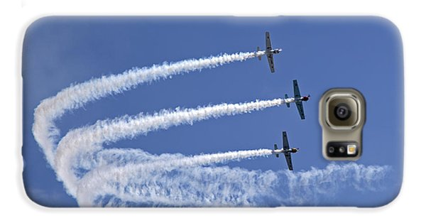 Yak Galaxy S6 Case - Yaks Aerobatics Team by Jane Rix