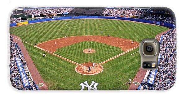 Yankee Stadium Galaxy S6 Case by Allen Beatty