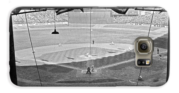 Yankee Stadium Grandstand View Galaxy S6 Case by Underwood Archives