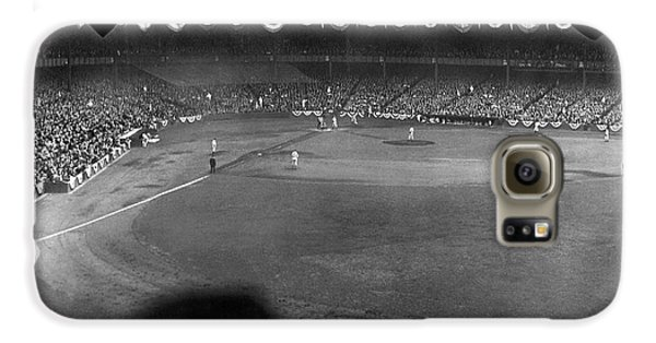 Yankees Defeat Giants Galaxy S6 Case by Underwood Archives
