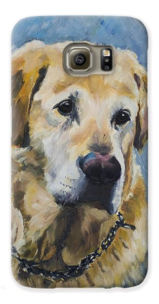 Yellow Lab Galaxy S6 Case