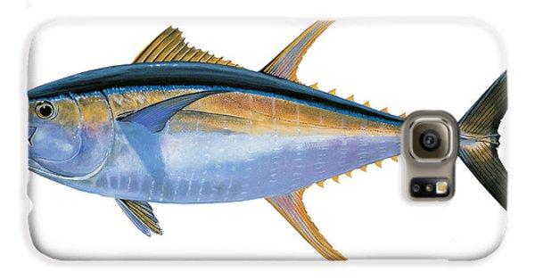 Yellowfin Tuna Galaxy S6 Case by Carey Chen