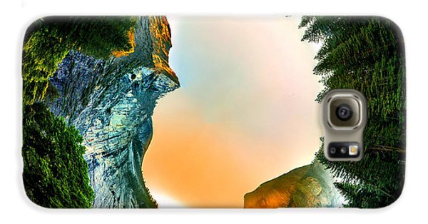 Yosemite National Park Galaxy S6 Case - Yosemite Circagraph by Az Jackson