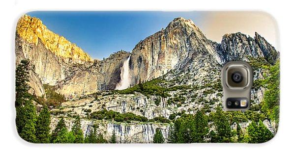 Yosemite National Park Galaxy S6 Case - Yosemite Falls  by Az Jackson