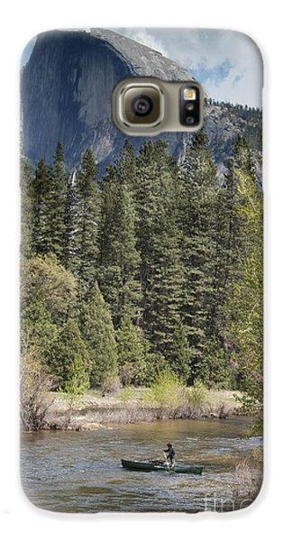 Yosemite National Park. Half Dome Galaxy S6 Case by Juli Scalzi