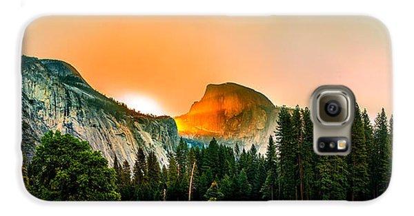 Yosemite National Park Galaxy S6 Case - Sunrise Surprise by Az Jackson