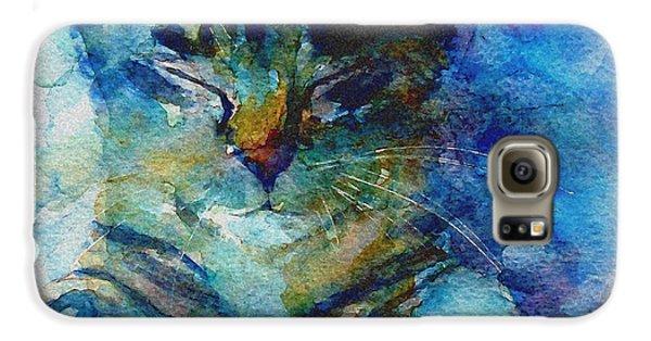 Cat Galaxy S6 Case - You've Got A Friend by Paul Lovering