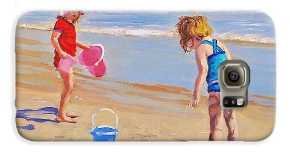 Beach Galaxy S6 Case - Yuck by Laura Lee Zanghetti