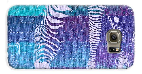 Zebra Art - Bp02t01 Galaxy S6 Case
