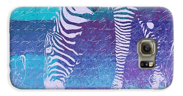 Zebra Art - Bp02t01 Galaxy S6 Case