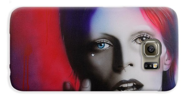 David Bowie - ' Ziggy Stardust ' Galaxy S6 Case
