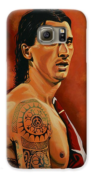 Zlatan Ibrahimovic Painting Galaxy S6 Case