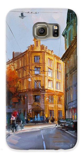Zlatoustinskiy Alley.  Galaxy S6 Case by Alexey Shalaev