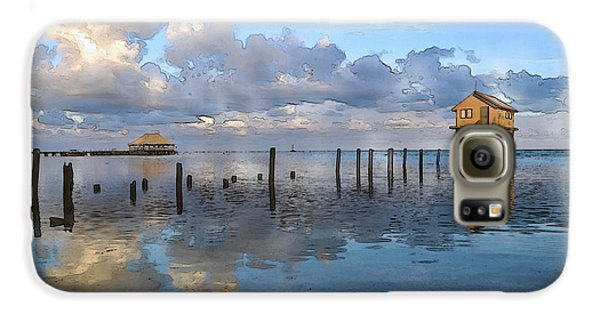 Ambergris Caye Belize Galaxy S6 Case