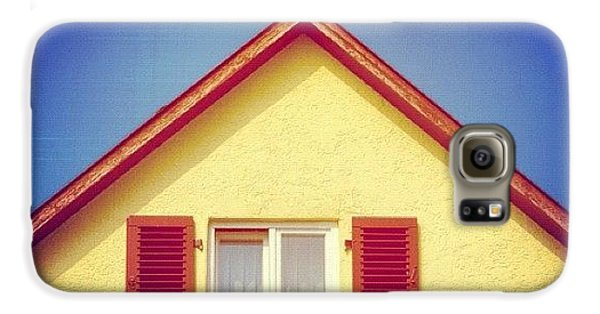 House Galaxy S6 Case - Gable Of Beautiful House In Front Of Blue Sky by Matthias Hauser