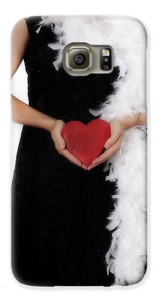 Boa Constrictor Galaxy S6 Case - Lady With Heart by Joana Kruse