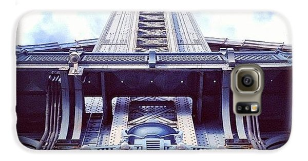 Architecture Galaxy S6 Case - Manhattan Bridge by Randy Lemoine