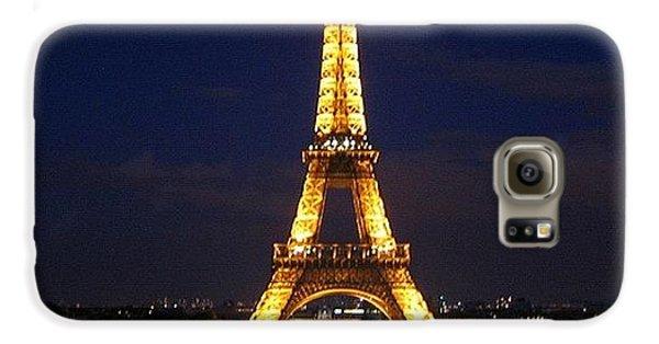 Light Galaxy S6 Case - Paris By Night by Luisa Azzolini