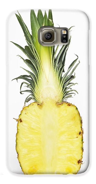 Pineapple Ananas Comosus Galaxy S6 Case by Matthias Hauser