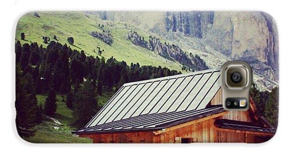 House Galaxy S6 Case - Rosengarten - Dolomites by Luisa Azzolini
