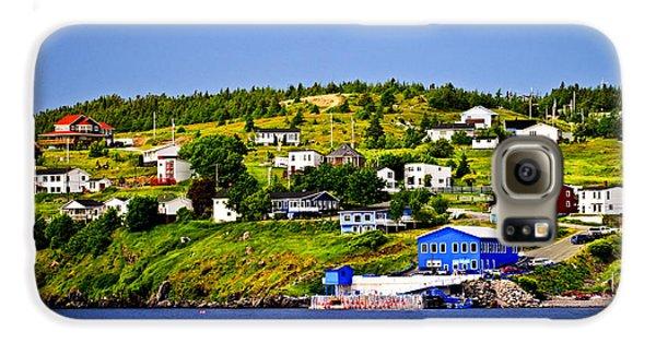 Town Galaxy S6 Case - Fishing Village In Newfoundland by Elena Elisseeva