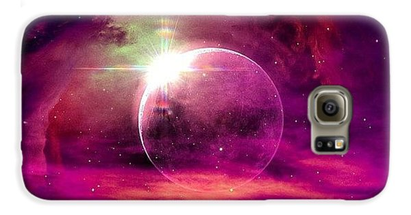 Bright Galaxy S6 Case -  by Katie Williams