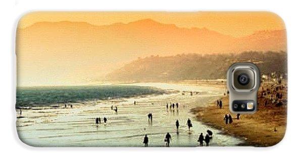 Beautiful Galaxy S6 Case - Santa Monica Beach by Luisa Azzolini