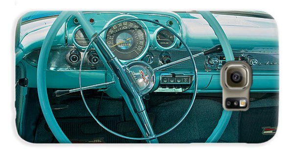 57 Chevy Bel Air Interior 2 Galaxy S6 Case