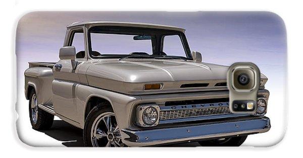 Truck Galaxy S6 Case - '66 Chevy Pickup by Douglas Pittman