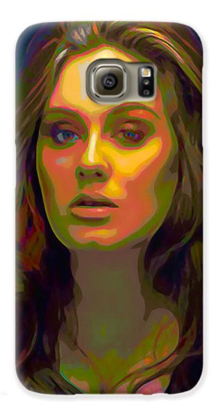 Adele Galaxy S6 Case by  Fli Art