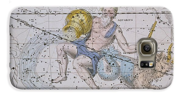Aquarius And Capricorn Galaxy S6 Case by A Jamieson