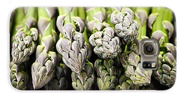 Asparagus Galaxy S6 Case - Asparagus by Elena Elisseeva