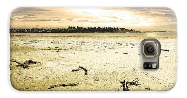 Galaxy S6 Case featuring the photograph At Caroline Bay Timaru New Zealand by Nareeta Martin