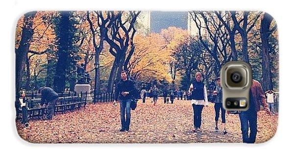 City Galaxy S6 Case - Autumn by Randy Lemoine