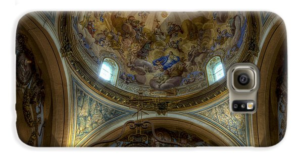 Baroque Church In Savoire France 5 Galaxy S6 Case