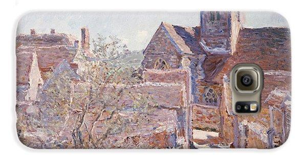 Town Galaxy S6 Case - Bennecourt by Claude Monet