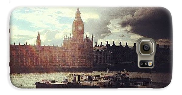 London Galaxy S6 Case - Big Ben by Samuel Gunnell