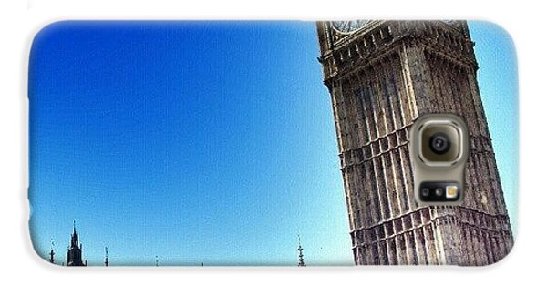 #bigben #uk #england #london2012 Galaxy S6 Case by Abdelrahman Alawwad
