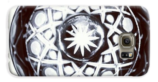 Black And White Glass Bowl. #glass Galaxy S6 Case