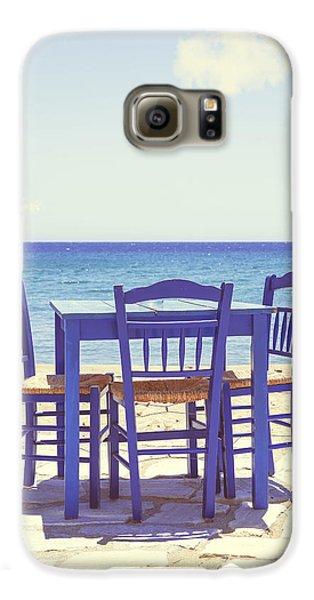 Blue Galaxy S6 Case by Joana Kruse