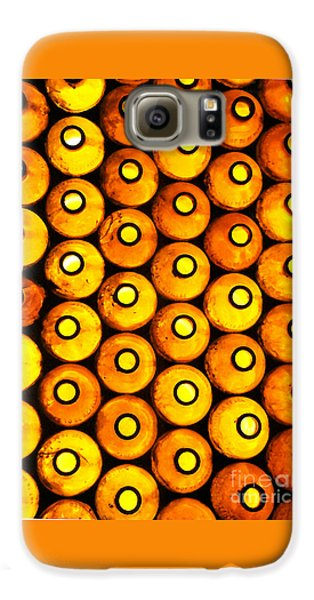 Galaxy S6 Case featuring the photograph Bottle Pattern by Nareeta Martin