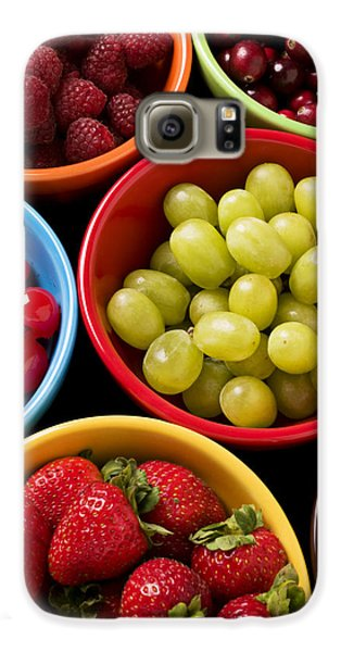 Bowls Of Fruit Galaxy S6 Case