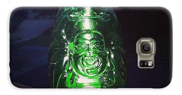 Decorative Galaxy S6 Case - Buddha Beer Bottle #buddha #bottle by Shikoba Photography