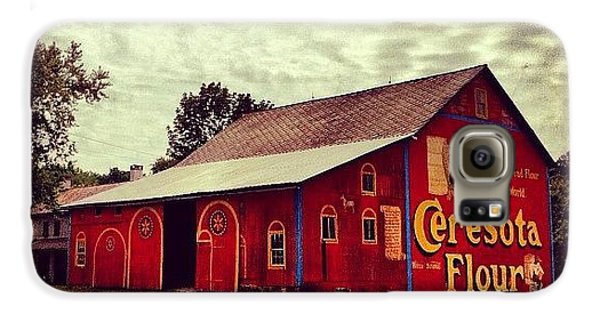 Beautiful Galaxy S6 Case - Buy Flour. #barn #pa #pennsylvania by Luke Kingma