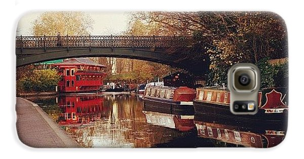 London Galaxy S6 Case - #camden #camdencanal #camdentown by Ozan Goren