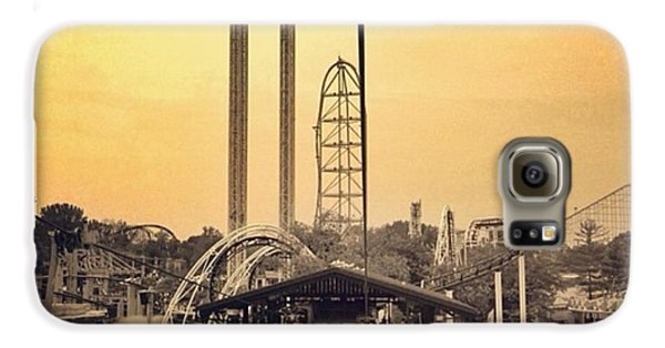 #cedarpoint #ohio #ohiogram #amazing Galaxy S6 Case by Pete Michaud