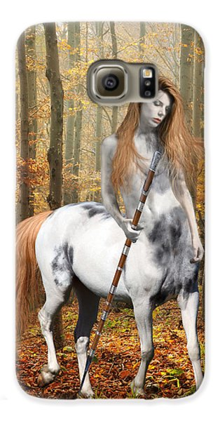 Centaur Series Autumn Walk Galaxy S6 Case by Nikki Marie Smith