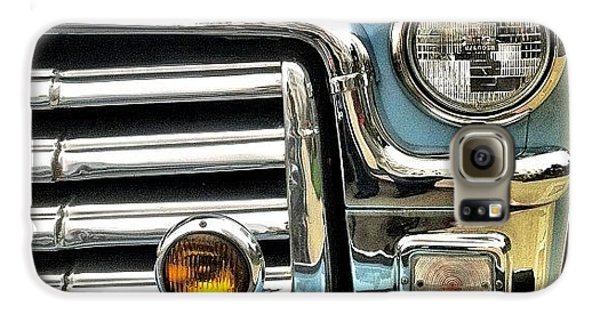 Classic Car Headlamp Galaxy S6 Case